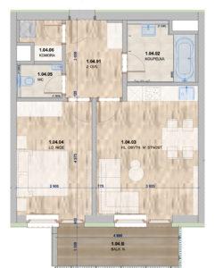 Domašov byt 8
