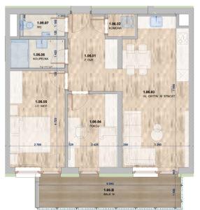 Domašov byt 10